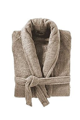 Luxury Insignia Terrycloth Bathrobe