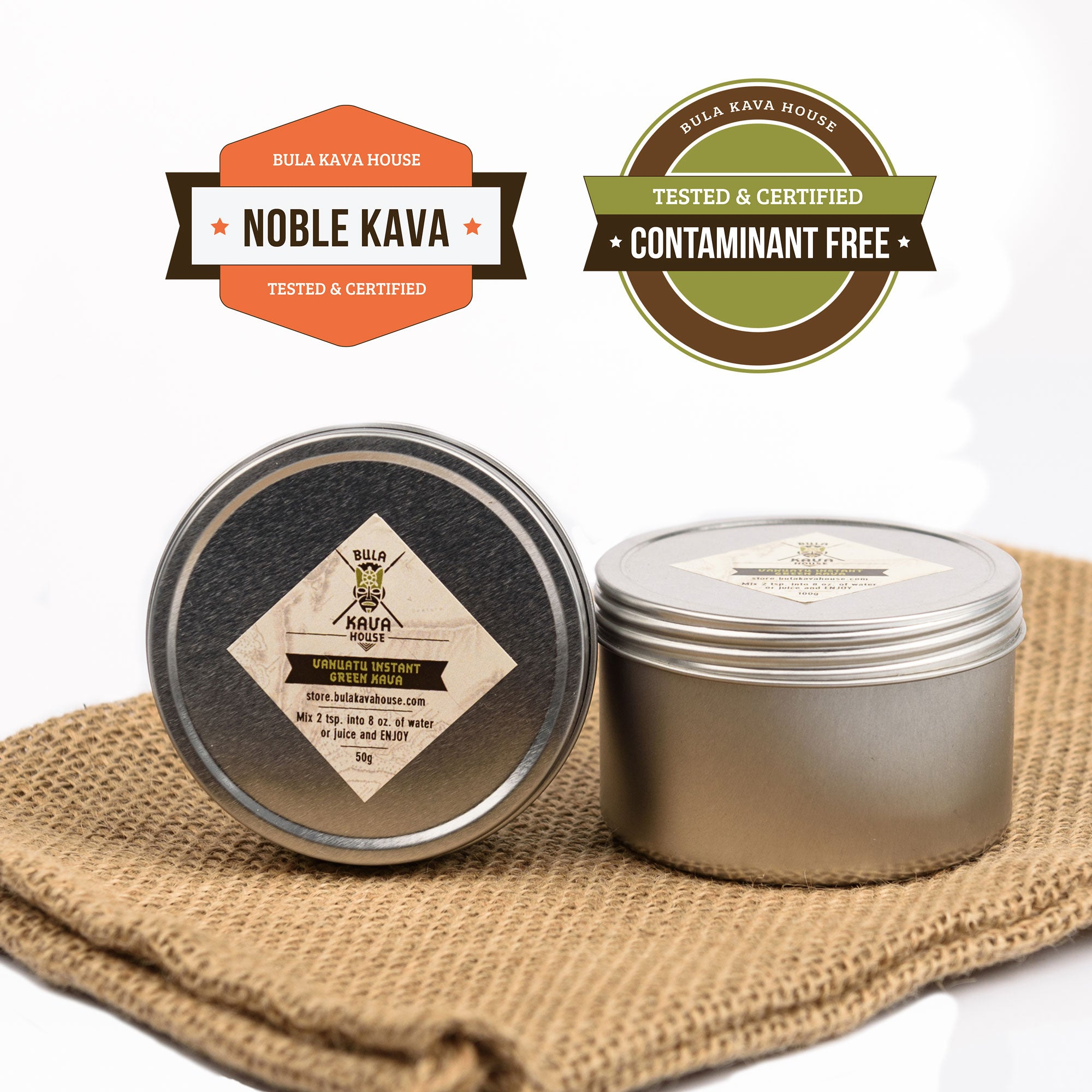 Instant Kava Root Drink Mix