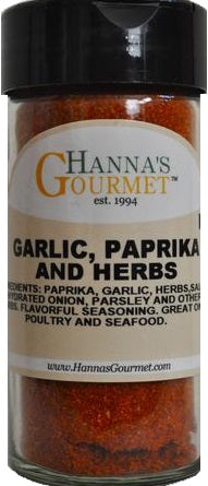 Garlic, Paprika & Herb Seasoning