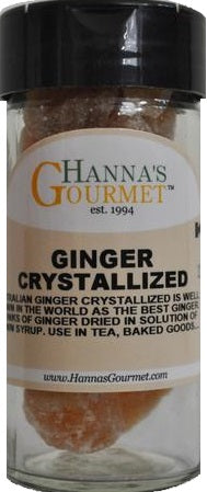 Ginger Crystallized