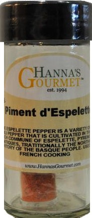 Piment D'Espellete