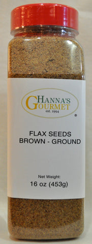 Seeds, Flax Brown (Ground)