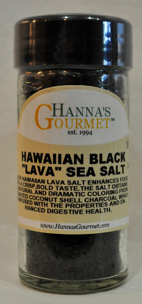Salt, Hawaiian Black Lava