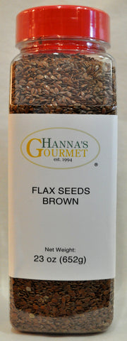Seeds, Flax Brown