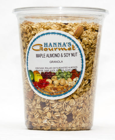Maple Almond & Soy Nut Granola