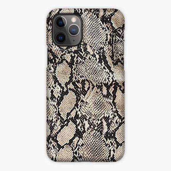 Animal Skin Pattern Snake Texture iPhone 11 Pro Case, Snap 3D Case