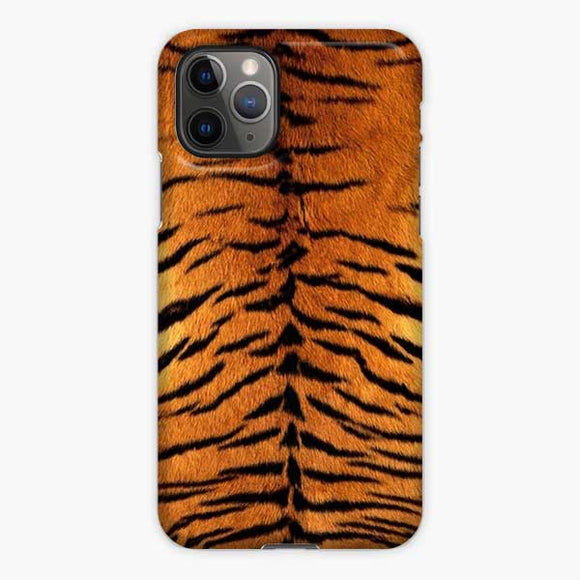 Animal Skin Pattern Tiger iPhone 11 Pro Case, Snap 3D Case