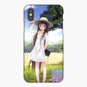 Anime Girl Wear A Hat iPhone XS Max Case, Snap 3D Case