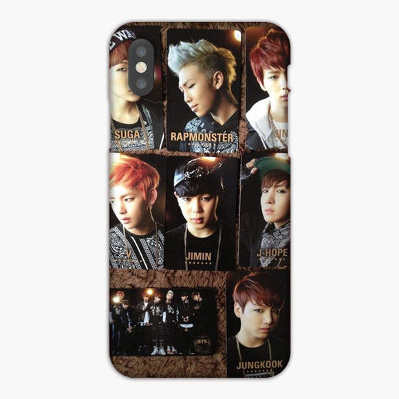 Bts No More Dream Japan Pressed Photocard iPhone 8 Case