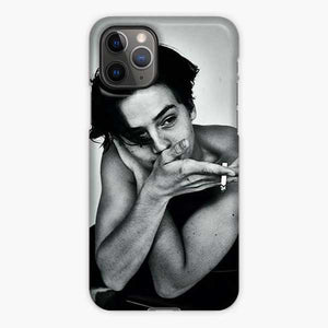 Cole Sprouse Boy And Black And White iPhone 11 Pro Case, Snap 3D Case
