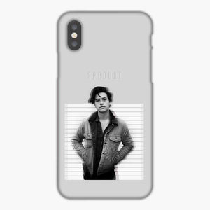Cole Sprouse Shadow White Black iPhone X Case, Snap 3D Case