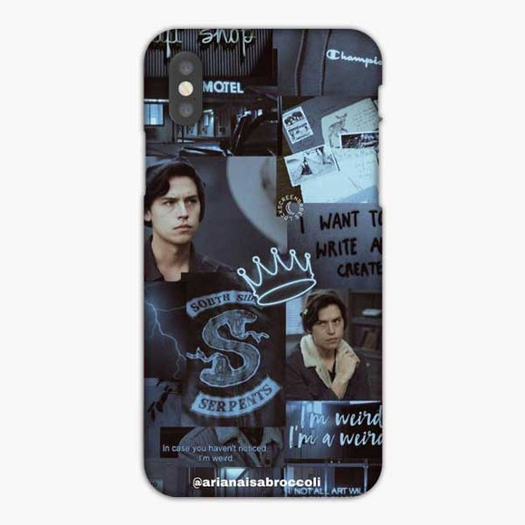 Cole Sprouse South Side Serpents iPhone X Case, Snap 3D Case
