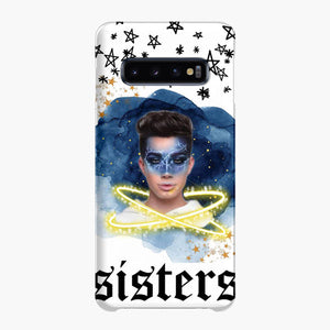 James Charles Creative Makeup Samsung Galaxy S10 Plus Case, Snap Case 3D Print