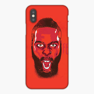 James Harden Houston Rockets Fear The Beard iPhone XS Max Case