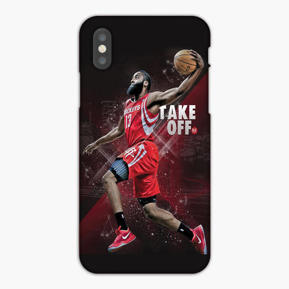 James Harden Houston Rockets Take Off iPhone XS Max Case