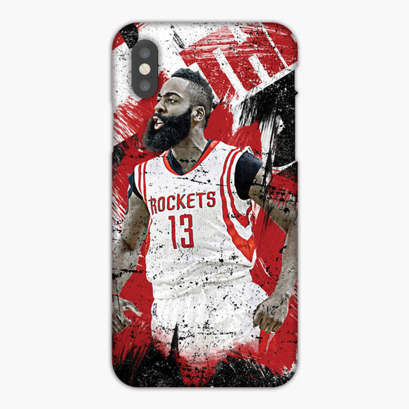 James Harden Houston Rockets Wallpaper iPhone XS Max Case