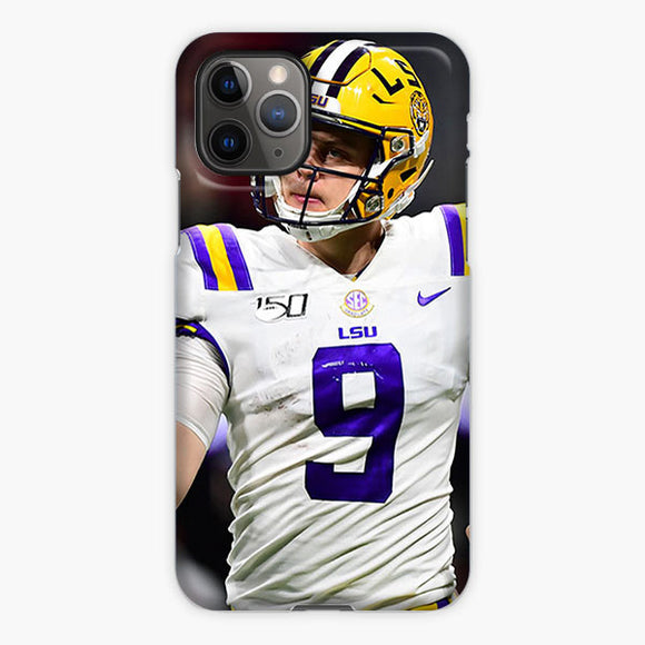 Joe Burrow Lsu Tigers Football Bowl Odds And Lines iPhone 11 Pro Case, Plastic Case, Snap Case & Rubber Case