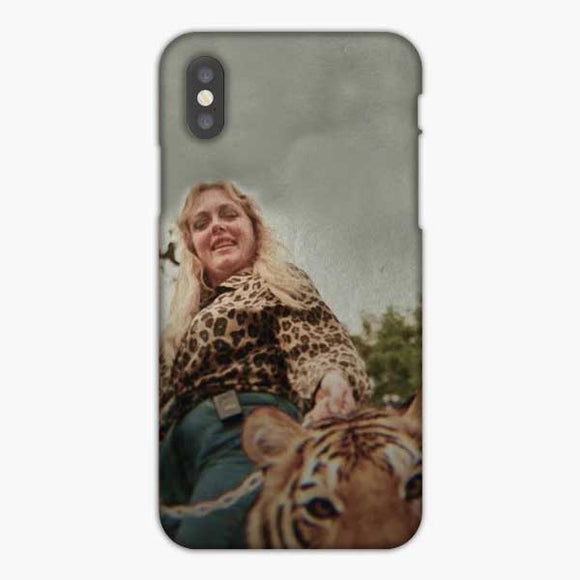 Joe Exotic And Tiger iPhone X Case, Snap 3D Case