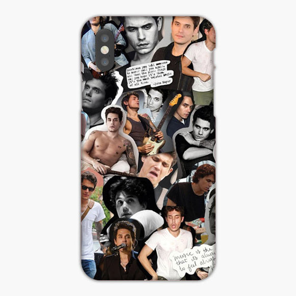 John Mayer Collage Photo iPhone XS Case