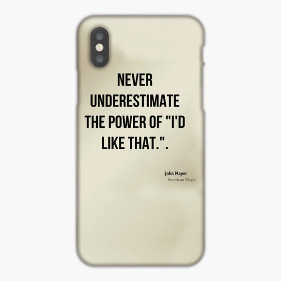 John Mayer Quotes iPhone 7 Plus Case