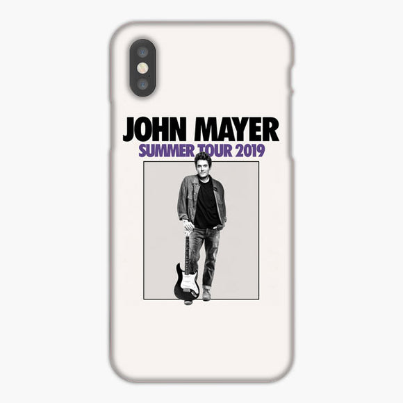 John Mayer Summer Tour 2019 iPhone X Case