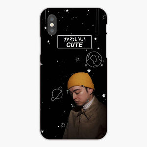 Joji Cute Galaxy Black iPhone XS Max Case, Plastic Case, Snap Case & Rubber Case