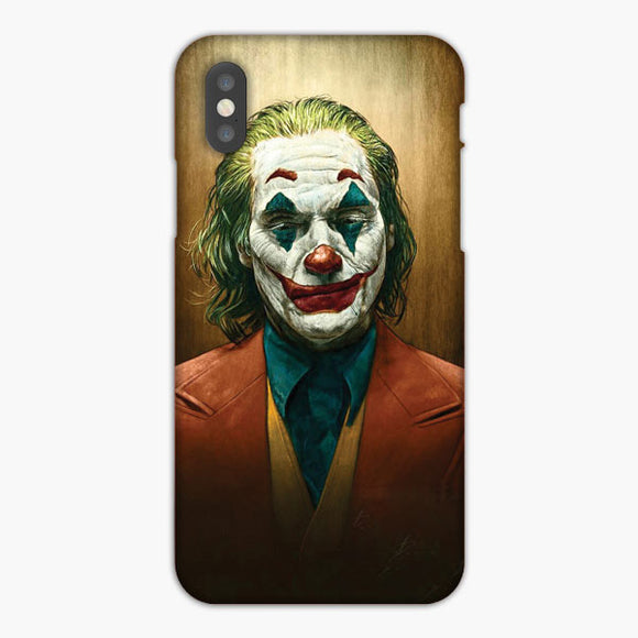 Joker Joaquin Phoenix Put On A Happy Face iPhone XS Max Case