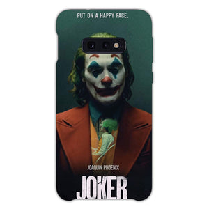 Joker Put On A Happy Face Quote 2019 Samsung Galaxy S10e Case, Snap Case 3D Print
