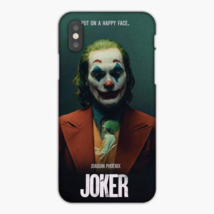 Joker Put On A Happy Face Quote 2019 iPhone X Case