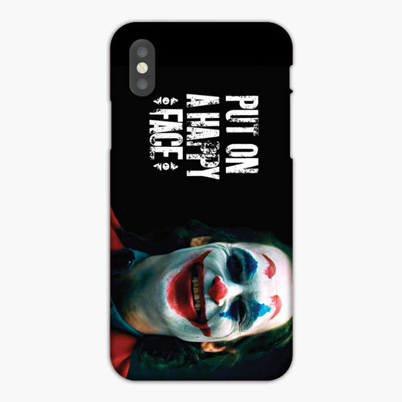 Joker Put On A Happy Face iPhone XR Case