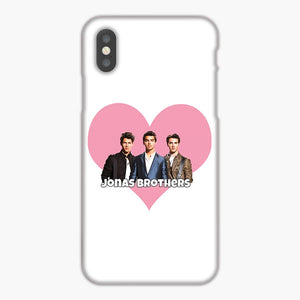 Jonas Brothers Love Pink iPhone XR Case, Plastic Case, Snap Case & Rubber Case