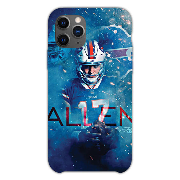 Josh Allen Buffalo iPhone 11 Pro Case
