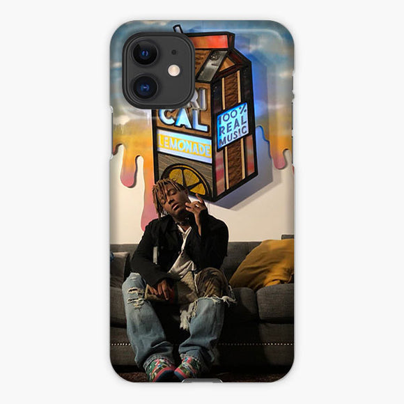 Juice Wrld Lyrical Lemonade Watercolor iPhone 11 Case, Plastic Case, Snap Case & Rubber Case