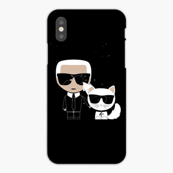 Karl Lagerfeld Wasn'T The Only Star iPhone XS Case