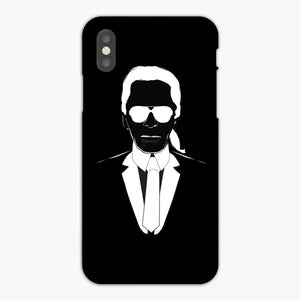 Karl Lagerfeld'S 13 Craziest Quotes iPhone X Case