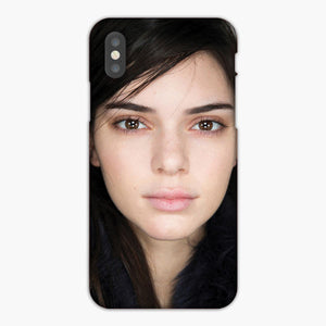 Kendall Jenner Beautiful No Make Up iPhone XS Max Case