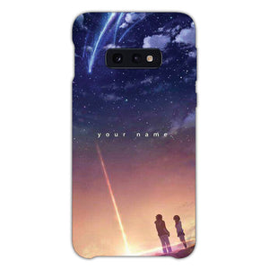 Kimi No Na Wa Your Name Samsung Galaxy S10e Case, Snap Case 3D Print