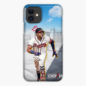 King Ronald Acuna Jr City And Blue Sky iPhone 11 Case, Plastic Case, Snap Case & Rubber Case