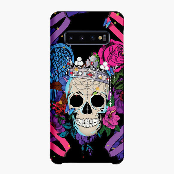 King The Skulls Samsung Galaxy S10 Plus Case, Snap Case 3D Print