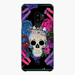 King The Skulls Samsung Galaxy S9 Case, Snap Case 3D Print