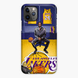 Kobe Bryant Retired Black Mamba Basketball Jerseys iPhone 11 Pro Case, Plastic Case, Snap Case & Rubber Case