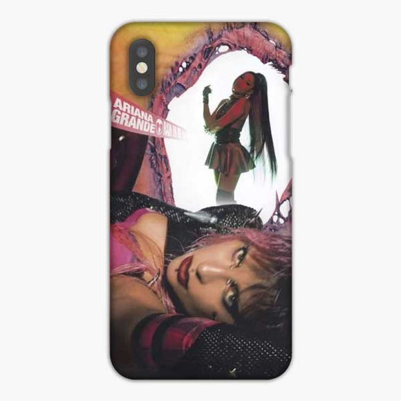 Lady Gaga And Ariana Grande Rain On Me Album Cover iPhone XS Max Case, Snap 3D Case