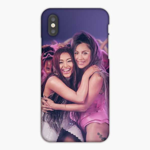 Lady Gaga And Ariana Grandes Rain On Me iPhone XS Max Case, Snap 3D Case