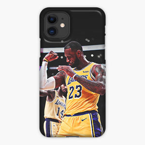 Lebron James Lakers 23 Tattoo iPhone 11 Case, Plastic Case, Snap Case & Rubber Case