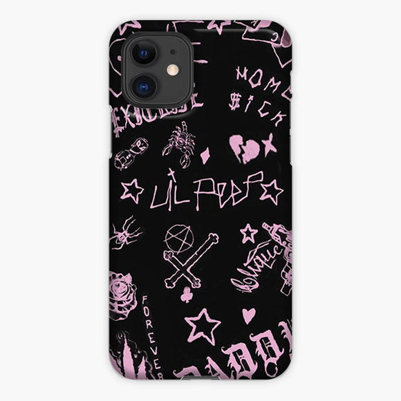 Life Is Beautiful Lil Peep iPhone 11 Case, Plastic Case, Snap Case & Rubber Case