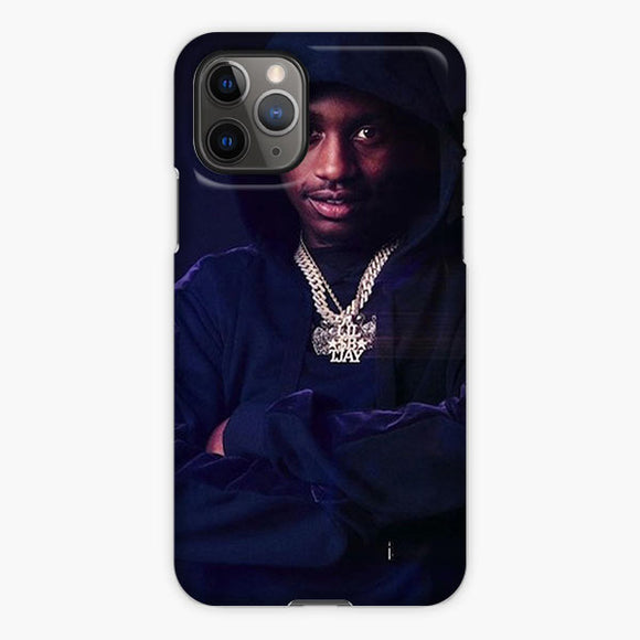 Lil Tjay Shadow Blue iPhone 11 Pro Max Case, Plastic Case, Snap Case & Rubber Case