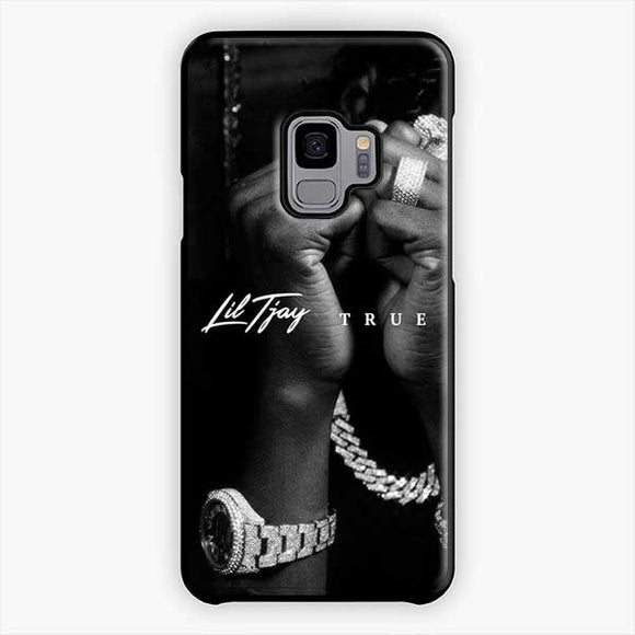 Lil Tjay True 2 Myself Samsung Galaxy S9 Case, Plastic Black