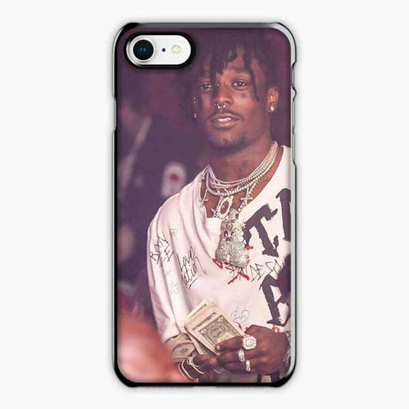 Lil Uzi Vert A Cool Hip Hop iPhone 8 Case, Plastic Black