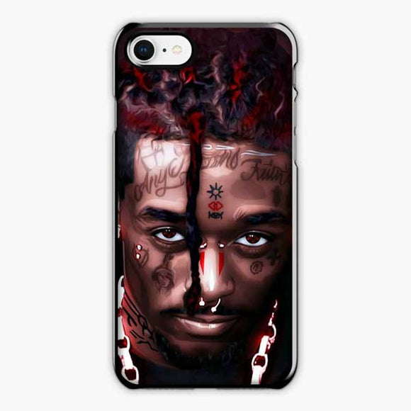 Lil Uzi Vert A Cool Rapper iPhone 8 Case, Plastic Black