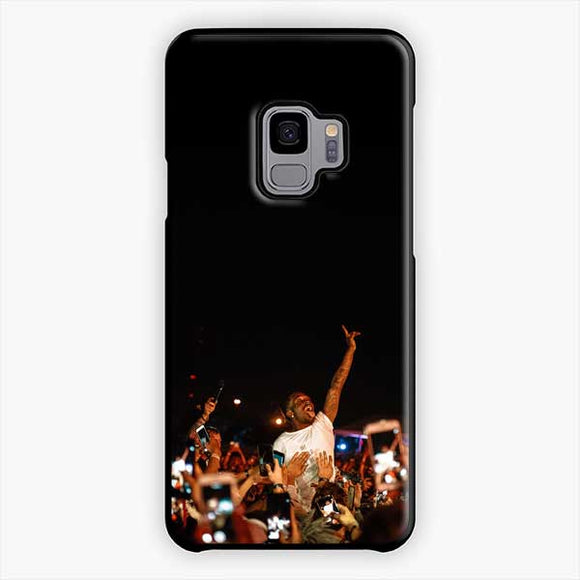 Lil Uzi Vert And Fans Samsung Galaxy S9 Case, Plastic Black